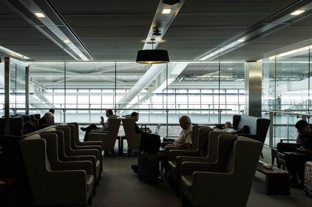 Club World Lounge, Heathrow